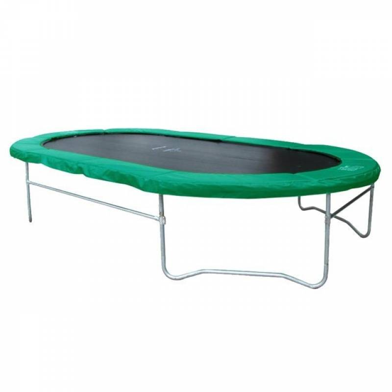 trampoline mega fun 366 cm ovaal trampolinesonline. Black Bedroom Furniture Sets. Home Design Ideas